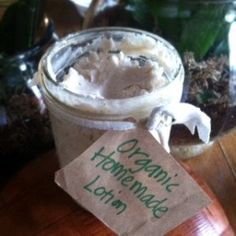 organic homemade lotion (really easy to make!!) http://wellnessmama.com/3765/luxurious-homemade-lotion-recipe/