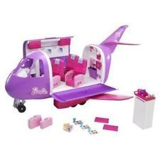 e4915b3877c Barbie Glamour Jet Purple Airplane Playset 2010 Target New