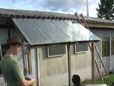 Homemade ..Cheap and Easy Passive Solar Water Heater for your Home.