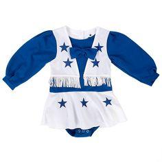 NFL Dallas Cowboys Cheerleader Infant/Toddler Cheer Uniform at shop.dallascowboys.com.