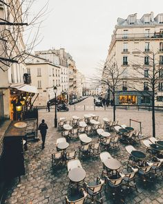 Back to Paris Montmartre with the cold