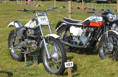 Triumph Trophy Trials and Bonneville