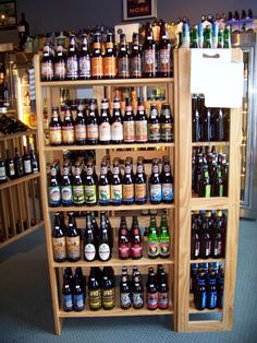 """I call it """"Wall. Of Beer."""""""