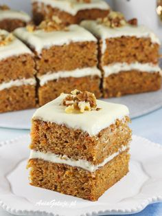 Apple Cake, Carrot Cake, Mary Berry, Sweets Cake, Food Cakes, Cake Cookies, Vanilla Cake, Carrots, Cake Recipes