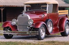 Dianne Towe's '29 Ford Roadster pickup