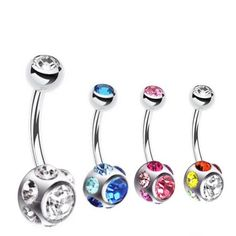 Belly Button Rings Surgial Steel Basic   Navel Ring Store Australia – bellylicious