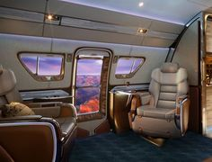 Travel can be a nightmare, but flying on a private jet usually makes the experience much better. Now the Skyranch One Private Jet is looking to set that bar Luxury Jets, Luxury Private Jets, Private Plane, Private Yacht, Luxury Hotels, Rolls Royce Wraith, Executive Jet, Luxury Helicopter, Private Jet Interior
