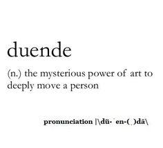 ~ Duende ~