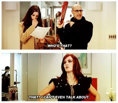 Devil Wears Prada - I love Stanley Tucci and Emily Blunt in this movie!