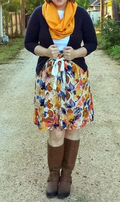 ea866f7d7df12 Top: LOFT Shoulder Button Boatneck Tee Cardigan: ModCloth Charter School  Cardigan in Navy Skirt: ThredUp (Down East) Boots:. Shop With Beth