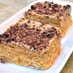 Espresso Royale Icebox cake
