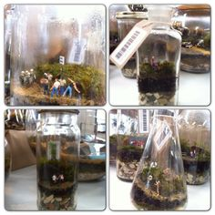 Cool gardens in a bottle