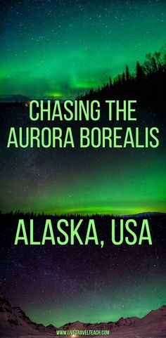 Chasing the Northern Lights in Alaska - Live, Travel, Teach cruise travel travel cove travel teton national smoky mountains vacation national park Usa Travel Guide, New Travel, Travel Usa, Cruise Travel, Travel Info, Vacation Travel, Travel Advice, Solo Travel, Budget Travel