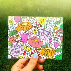 Wildflower Pattern - Katie Turner Illustration