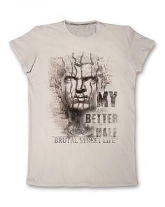 Мъжка тениска с щампа  #тениска #тениски #мъжкатениска #дънки #фешън #лято #лято2015 #колекция2015 #тенискиспринт