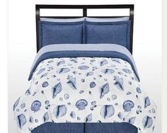 The Big One Seaside Bed Set - Proof of Nautical theme Nautical Bedding, Beach Bedding, Nautical Theme, Full Comforter Sets, Bedding Sets, King Comforter, Bed In A Bag, Guest Bed, Beach Condo