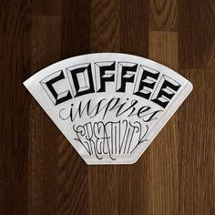 Coffee inspires creativity