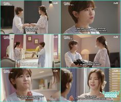 ha won washed hye ji laundery and accidentaly shrink the clothes so she gave her her track suit  - Cinderella & four Knight episode 11 Review Cinderella And Four Knights, Mothers Friend, Biological Father, Korean Language, Taekwondo, Popular Culture, Korean Actors, Korean Drama, That Way