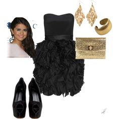 Perfect party dress and accessories!