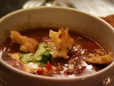 Chicken Tortilla Soup from The Pioneer Woman #myplate #protein