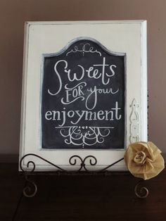 Repurpose cabinet doors with this great DIY idea - turn them into sweet chalkboards!
