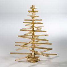 Árbol de navidad decorativo de madera, ligno La Redoute Interieurs | La Redoute España