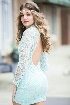 Mint lace  #swoonboutique