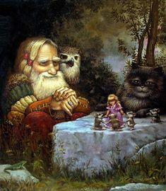 Сказочные коты Александра Маскаева