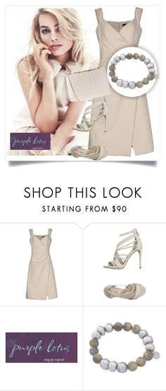 """SHOP - Purple Lotus Jewelry"" by ladymargaret ❤ liked on Polyvore featuring Dsquared2, GUESS and Chiara P"