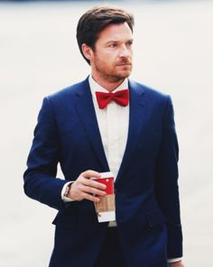 ..and with a red bow tie? Mhmm.