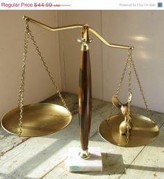 on sale lawyer scales scales of justice by rivertownvintage, $33.74