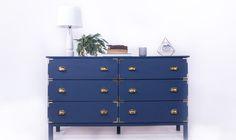 Steampunk Dresser IKEA Hack
