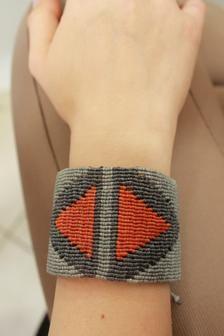Boho cuff bracelet. Unisex cuff. Geometric cuff. Handmade | Etsy Unique Bracelets, Cuff Bracelets, Macrame Bracelets, Silver Rings Handmade, Copper Earrings, Adjustable Bracelet, Boho, Unisex, Etsy