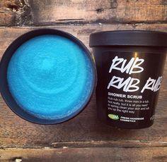 Rub Rub Rub Shower Scrub this product is by far my favourite it smells so good and great on ya skin!