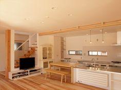 piece_kominka_shima_2 Loft, Kitchen, Table, Furniture, Home Decor, Cooking, Decoration Home, Room Decor, Lofts
