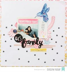 Family Amy Tangerine Better Together American Crafts Knock Puncher Full Layout by Evelynpy