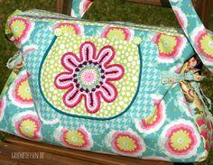 greenfietsen: Meine Tasche Florabella und wie ich entdeckte, dass ich Amy Butler mag [E-Book von Jolijou/Farbenmix]