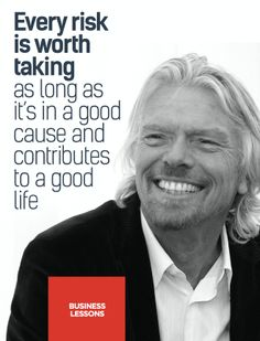 Wise word from interviewee Richard Branson! Check out our interview and articles with Richard Brandon in our FREE issue (To download the FREE issue 08 of Foundr Magazine go to the link at the top of the page under the board description).