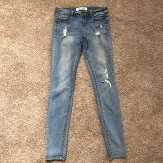 Jeans Lightly distressed jeans Foreign Exchange Jeans Skinny