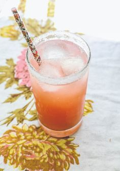 St. Germain Grapefruit Margarita | The Baking Bird