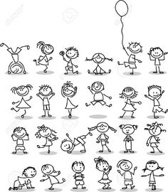 Cute happy cartoon kids is part of Doodles - Illustration of Cute happy cartoon kids vector art, clipart and stock vectors Image 14501423 Happy Cartoon, Cartoon Kids, Cartoon Images, Doodle Drawings, Easy Drawings, Doodle Art, Doodle Kids, Doodle People, Amazing Drawings