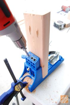 DIY Project: Using a Kreg Jig to build a farmhouse bench