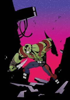 Drax by Jon Lankry #GOTG