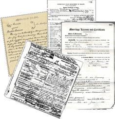 I Want a Copy - from www.rootseekers.org.  Where to write and get copies of birth and death certificates, marriage license and divorce decrees, etc.