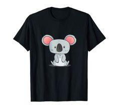 Cute Koala T-Shirt Woman Man Children Gift