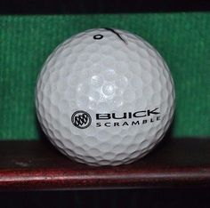 Buick Scramble Golf Tournament logo golf ball. Nike.