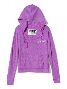 Scoopneck Pullover - PINK - Victoria's Secret