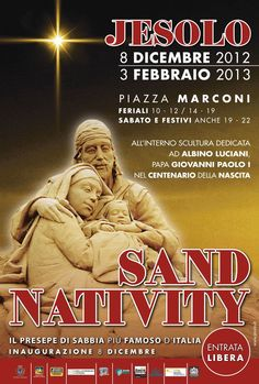 Jesolo Sand Nativity 2012... #welovejesolo