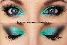 Eyeshadows: Sleek Candy, Makeup Geek: Vanilla Bean, Galaxy mascara: Rimmel Scandaleyes Rockin' Curves Nyx 'Milk'