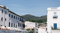 Cadaques, Spain #travel #destination Cadaques Spain, Spain Travel Guide, Fishing Villages, The Province, Beautiful Architecture, Local Artists, Street View, Places, Lugares